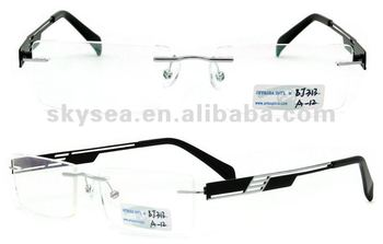 Rimless Glasses En Espanol : 2012 New Models Of Glasses Frames Rimless Metal Glasses ...
