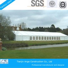 Wide use party, event, trade show clear span tent manufacture