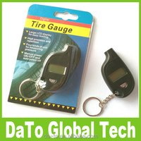 Mini Keychain LCD Display Car Digital Tire Tyre Pressure Gauge