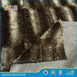 2015 new design Anti-slip plastic Dots on brushed velboa Upholstery Fabrics for cushion,pet-seat,sofa cushions