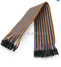 dupont cable Color cable 40p 20cm Female to Male F--M