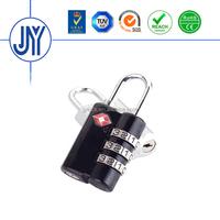 2015 new product factory directly tsa key code small padlock