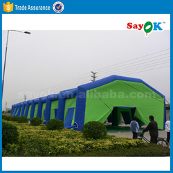 Large inflatable event tent outdoor tennis court dome tent inflatable for sale