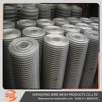 factory price galvanized 6x6 welded wire mesh fencing