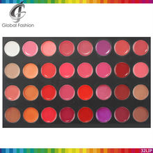 Hot selling 32 color lip palette make your own lipstick