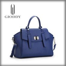 European style custom made leather handbags/lady fashion leather handbag