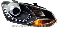 Best selling!! ce&rohs VW new polo headlights with xenon lamp