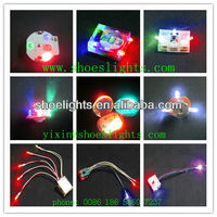 small battery operated led shoes light