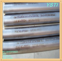 Titanium Bar & Rod Heat and Cold Resistant Anticorrosion Non-poisonous