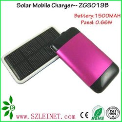 1500MAH 0.6W iphone 4 solar charger