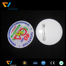 Colorful newest PVC/Acrylic reflective badge for gift promotion
