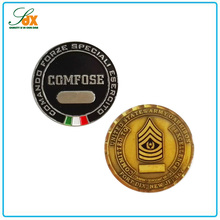 Factory price metal military challenge coins for different country