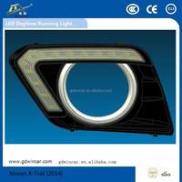 Auto Lighting System Led Daytime Running Light Daylight for X-Trail Car LED Daytime Running Light(2014)