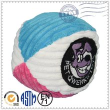 Factory Directly Custom Plush Pet Products dog toys ball throw