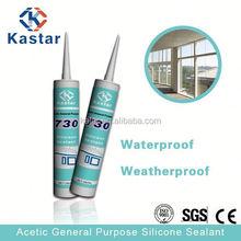 Kastar Professional aluminum silicone sealant 310ml aluminum alloy doors and windows