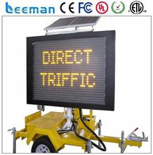 solar electricity generating system for home 3 sides mobile led display screen ws2802 full color changing led module
