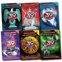 The 39 Clues Cahills Vs Vespers Series Collection 6 Books Set 36 digital cards