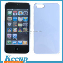 Promotioanl merchandise 3d sublimation blank double cell phone case for iphone