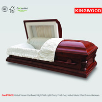 Peace cardboard cremation paper best price casket Eco-friendly coffin