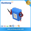 CE FCC MSDS approved 18650 12v li-ion battery 4400mAh for hair trimm