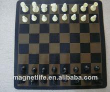 la costumbre internacional magnético de ajedrez
