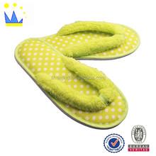 2015 women dot EVA design female flip flop