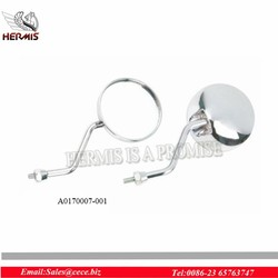 Chorme universal side mirror