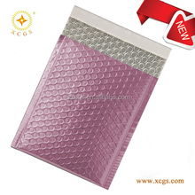 Shiny Pink Aluminum Foil Mailer Metallic bubble envelope