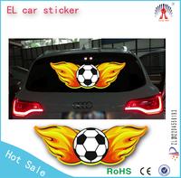 el lighting car sticker/el sheet car sticker/equalizer el car sticker wholesale