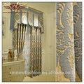Diseño de la cortina 2014, cortina de tela de mezclilla, cortina de turquía