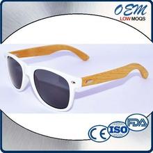 2015 High Quality Bamboo Temple Polarized Men Women Cheap Summer Sunglass