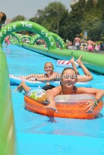 Commercial inflatable slip n slide for kids and adults