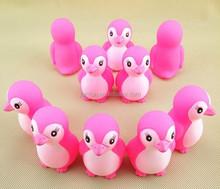 vinyl dolphins series bath toys, Cute Rubber Bath Toy, penguin animal series pvc vinyl toys