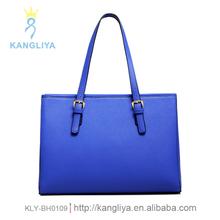 Branded handbags high quality pu leather tote bag hard shape ladies big stylish bag