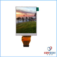 shenzhen high brightness displayr 2.7 inch lcd monitor touch screen with MCU interface
