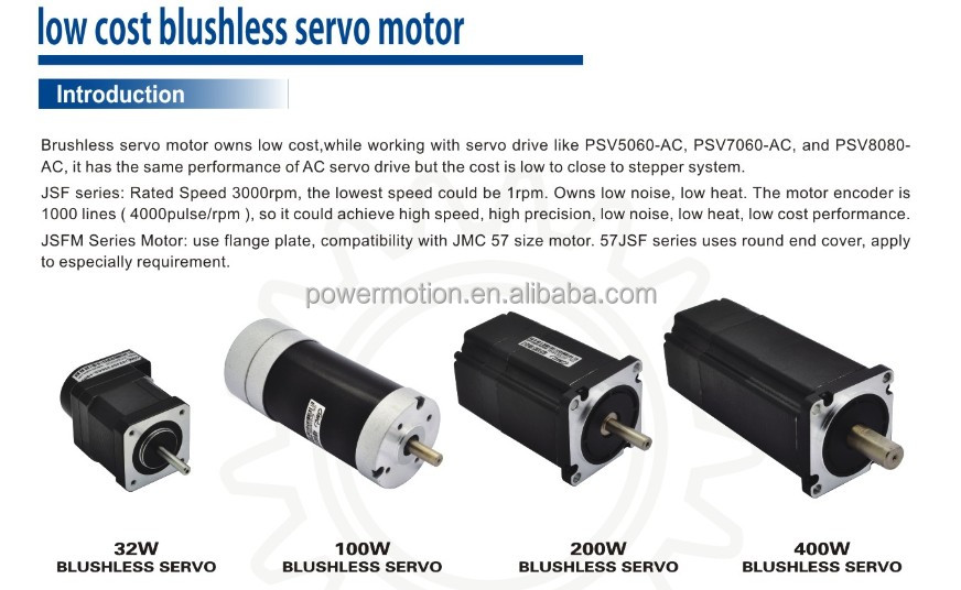 Low Cost 100w Ac Brushless Servo Motor For Sewing Machine View Brushless Servo Motor Jmc