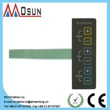 membrane keyboard thin-film membrane dome six key single membrane switch