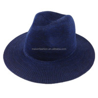 2015 Women Knitted Fedora Hat