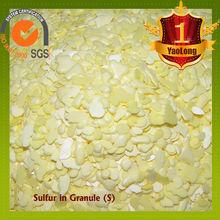 Agricultural granule sulphur