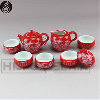 china tea set wholesale decal drinkware antique lucky white decal tea sets for adults bone china tea set prices