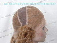 full lace wig caps with stretch from ear to ear