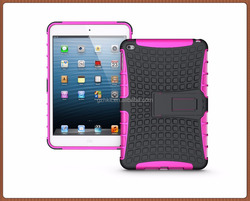 New Version Hybrid Armor Shockproof Dustproof Kids Safe Stand Case Cover For ipad mini4