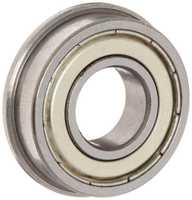 Flanged Shielded FR8ZZ 1/2 x 1-1/8 x 5/16 inch Ball Bearings Brand