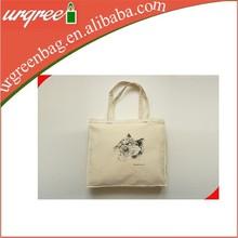 Long strap cotton shoulder tote bags