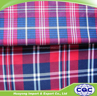 factory price cotton check shirt fabric.,T/C fabric for shirts and garments