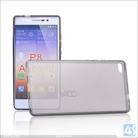 New transparent good quality cell phone case for huawei ascend p8 OEM & ODM