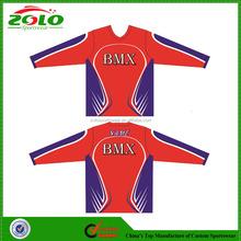 Custom Sublimation Printing Bmx Racing Wears