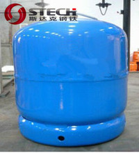 3kg mini refilled lpg pressure vessel for camping