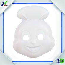 plain plastic face mask hallowmas face mask