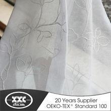 de alta calidad populares caliente de la venta de flores bordados elegantes cortinas de rusia